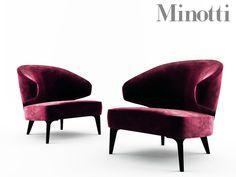 Minotti ASTON Arm Chair By IsraaAzzam On @creativemarket
