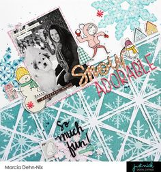 layout created with JustNick Studio digital cut files and the fun Crate Paper Snow & Cocoa collection. I have a YouTube process video up on my channel and would love to have you stop by and watch ... https://youtu.be/8TLW8i6fTao