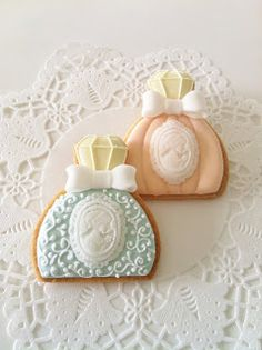 Perfume Bottle Cookies~           By C.bonbon, Orange, green