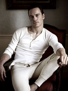 Michael Fassbender. Originally from Germany, but grew up in Ireland.
