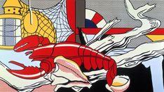 Roy Lichtenstein - Still Life with Lobster (1972)