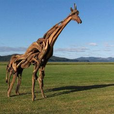 What do you think of this animal sculpture made with nothing more than driftwood? on The Owner-Builder Network http://theownerbuildernetwork.co/wp-content/blogs.dir/1/files/recycle-sculpture/Recycle-Sculpture-3.JPG