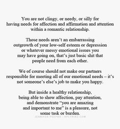 Love this.... This is going out to all of you assholes that call me clingy like its a bad thing :D Favorite Quotes, Best Quotes, Love Quotes, Inspirational Quotes, Nerd, Out Of Touch, Healthy Relationships, Broken Relationships, Beautiful Words