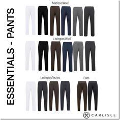 ESSENTIAL Fall Pants - from Carlisle/Per Se.