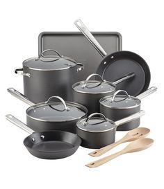Anolon Professional HardAnodized Nonstick 15Piece Cookware Set #Dillards