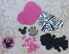 100 Mickey Minnie Mouse Head 1 inch Pale / by sandylynnbscrapping