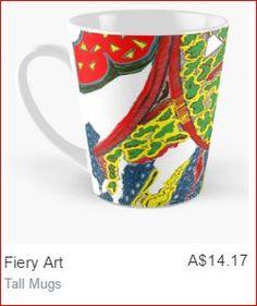 Brighten up with a coffee or tea. glendobeart.com #glendobe #coffee #tea #mug