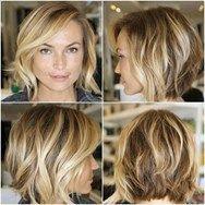 lättskött frisyr för tunt hår