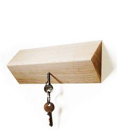 magnetic pull key holder