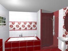 Modele de design cu gresie si faianta pentru bai bucatarii for Modele gresie si faianta baie