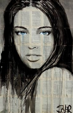 "Saatchi Art Artist LOUI JOVER; Drawing, ""billabong"" #art"