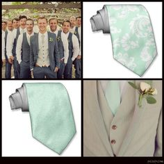 Groom & Groomsmen Attire..im a fan of the 3 piece suit for the groom