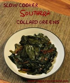 This time of the year in the United States, we are reminded from every direction about the Southern tradition of eating collard greens and black-eyed peas on New Year's Day to bring in good l…