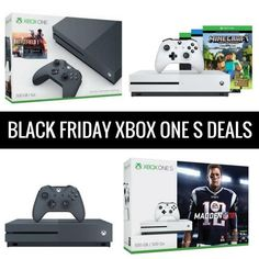 Xbox One S Bundle with Two Bonus Games $249 Shipped!