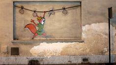 Robin Hood, Paris #StreetArt #RobinHood #Paris