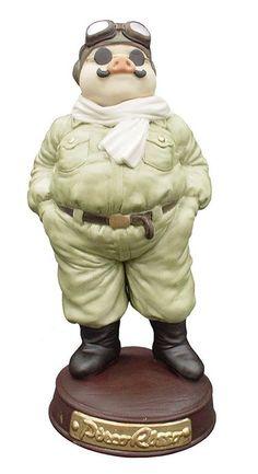 Studio Ghibli - Porco Rosso 20cm Figure (Japan Import) F/S #Sekiguchi #NA