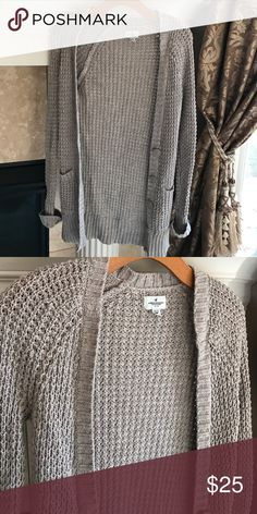 Oversized Waffle Knit cardigan American eagle size xs!  Tags: forever 21, free people, urban outfitters, pacsun, LF, Tobi, Topshop, Nasty Gal, Sabo Skirt, Missguided, Brandy Melville, Express, Lulu's, Windsor. BRAND IS AMERICAN EAGLE Free People Sweaters Cardigans