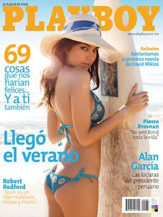 Playboy (Mexico) July 2008  with Brittany Binger on the cover of the magazine
