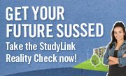 Get your future sussed. Take the StudyLink Reality Check now!