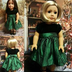 """18 inch doll clothes """"Velvet Jade"""" will fit American Girl® , Our Generation®…"""