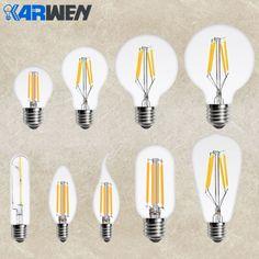 KARWEN LED Edison Bulb E14 E27 Filament Candle Light 220v 360 Degree Ampoule Led Lamp Replace Incandescent Energy Saving  Price: 8.00 & FREE Shipping  #tech|#electronics|#gadgets|#lifestyle