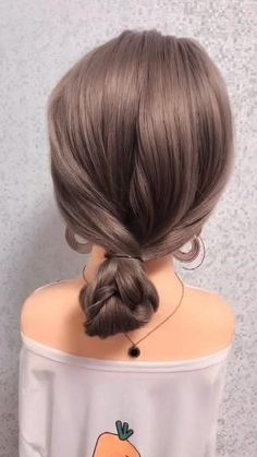 Hairdo For Long Hair, Easy Hairstyles For Long Hair, Latest Hairstyles, Simple Long Hair Updo, Hairstyles For Hats, Style Long Hair, Easy Hair Braids, Curly Hair, Cute Quick Hairstyles