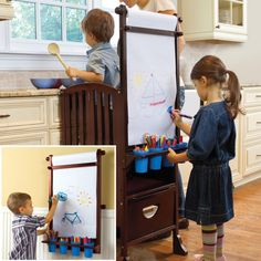 need to add this art easel to Ana White's Little Helper Tower http://ana-white.com/2010/12/helping-tower.html