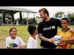 On a recent trip to the Philippines, UNICEF Goodwill Ambassador David Beckham highlighted the importance of a caring and supportive family, as he toured the 'Village for Youth', a Government-run centre for young people who have been abused or abandoned.