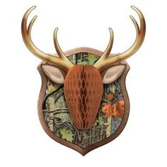 This Hunting Camo Antler Honeycomb Wall Decoration is a must have party decoration. This honeycomb decoration features a three-dimensional deer head against a camo-colored background. Camo Birthday Party, Hunting Birthday, Birthday Party Decorations, Wall Decorations, Birthday Ideas, 5th Birthday, Birthday Parties, Hunting Decorations, Teen Parties