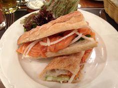 Saumon Fume (Salmon Sandwich) @Paul Bakery & Restaurant