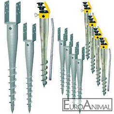 Krinner Eindrehhülse Eindrehanker für Pfosten 70x70 mm / 90x90 mm Pfostenanker…