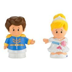 Little People® Disney Cinderella & Prince Charming | BrandsLittlePeople | Fisher Price
