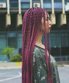 Gorgeous box braids #AfricanBraids