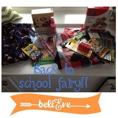 Back to School Fairy Fun idea