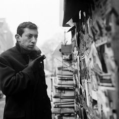 Serge Gainsbourg by Roger Kasparian