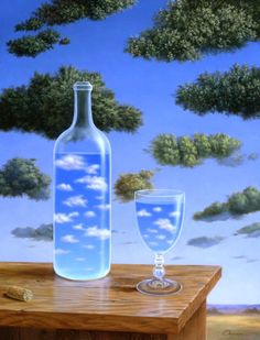 Magritte: Nuages.