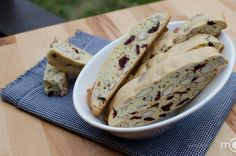 Heavenly Cranberry almond biscotti, perfect for The holidays
