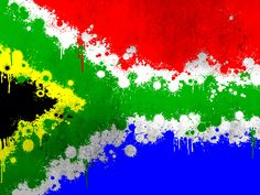 Discover south africa's poker scene with ashlee de lange South African Flag, Flag Painting, Rock Painting, Splatter Art, Behance, Flag Art, Drawing, Creative Art, Illustration
