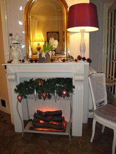 fausse chemin e la d co trompe l 39 oeil am nagement int rieur pinterest decoration cheminee. Black Bedroom Furniture Sets. Home Design Ideas
