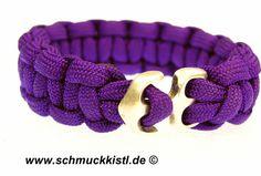 Makramee - Armband mit Ankerverschluss von www.Schmuckkistl.de auf DaWanda