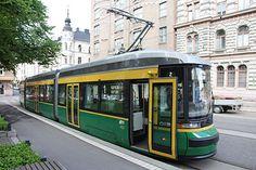 Raitiovaunulla   Helsingin kaupunki