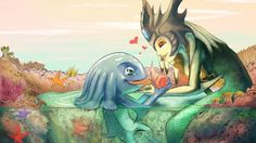 Fizz Nami Art League of Legends Picture 2560x1600