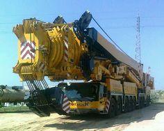Mobile cranes just keep growing.