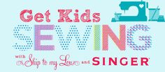 Get kids sewing.  Easy and fun sewing sheets, sewing projects for beginners and kids. www.skiptomylou.org #sewing #sewingsheets #kidssewing