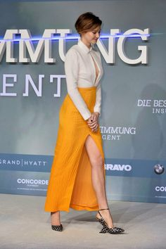 Shailene Woodley is gorgeous at the 'Insurgent' premiere in Berlin