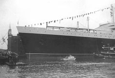 At dock - SS United States