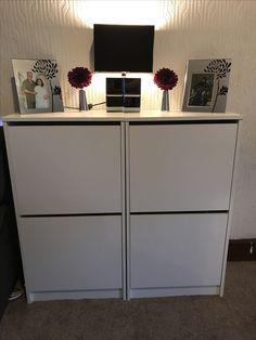 Shoes storage Ikea Bissa shoe storage & IKEA bissa shoe cabinet hack | Home | Pinterest | Ikea hack ...