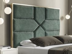 Essential design alternative in your mattress room is the headboard. In any case, it's the point of interest and might change the vibe of a room instantly. Bed Headboard Design, Bedroom Bed Design, Modern Bedroom Design, Headboards For Beds, Interior Design Living Room, Bed Designs With Storage, Sofa Set Designs, Sofa Design, Furniture Design