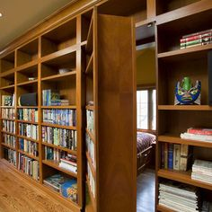 Bookcase Door Design, Pictures, Remodel, Decor and Ideas