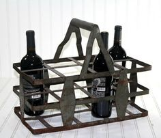 French Bottle Carrier - oh the possibilities!